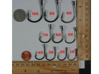 Lucky Joes 10827 Black SS big game bait hooks